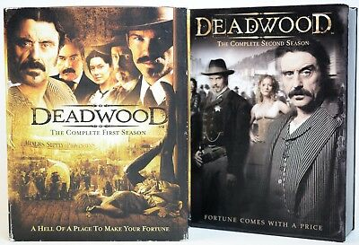 (MA5) Deadwood The complete First And  Second Season DVD Set