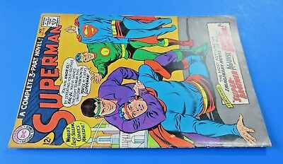 Superman #200 Comic Book ~ Dc Silver Age 1967 ~ Super-Brother ~ Fn+