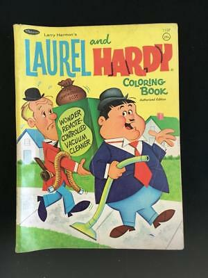 VINTAGE COLORING BOOK Whitman Publishing 1968 Laurel and Hardy ...