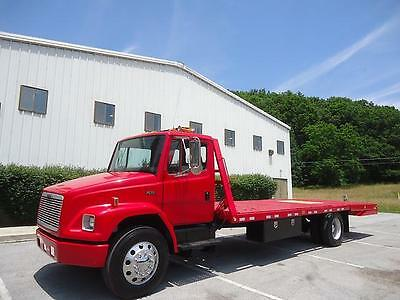 Freightliner Fl70 Hydraulic Folding Tail Equipment Bed Like Rollback
