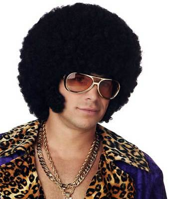Adult Men Afro Chops Halloween Wig