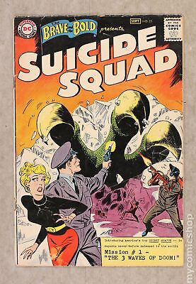 Brave and the Bold (1st Series DC) #25 1959 PR 0.5
