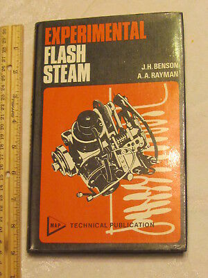 EXPERIMENTAL FLASH STEAM, Benson and Rayman, steam engines, model boats