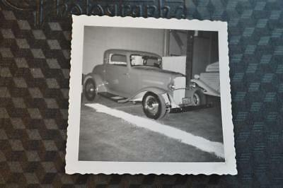 Vintage Photo 1932 Ford Deuce Coupe Hot Rod Custom Car at Roadster Show 871014