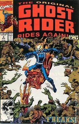 Original Ghost Rider Rides Again #2 1991 VG Stock Image Low Grade