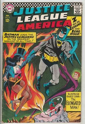 Justice League of America # 51 strict FN appearance Zatanna!