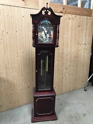 Highlands Tempus Fugit Grandfather Clock - Untested    #62