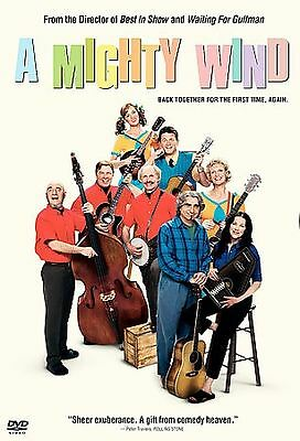 A MIGHTY WIND (DVD, 2003, Widescreen) New / Factory Sealed / Free Shipping