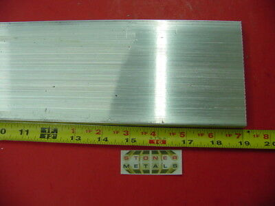 "1/2"" X 4"" ALUMINUM 6061 T6511 SOLID FLAT BAR 19"" long PLATE NEW Mill Stock .50"""
