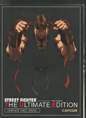 Street Fighter The Ultimate Edition Complete First Series ACCEPTABLE Book