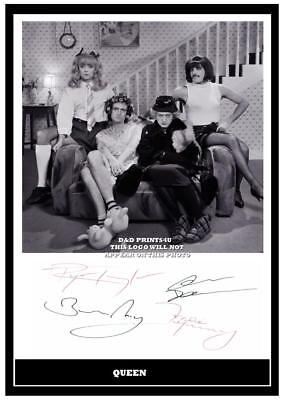 119. queen freddie mercury signed photograph reprint great gift