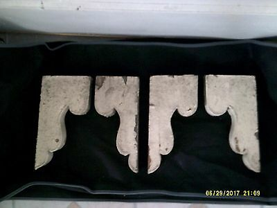 Lot of 4 -  Antique / Vintage Corbels - Architectural Salvage - Circa 1882