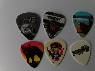 Prodigy Guitar Plectrums Enemy Fat Of Land Experience Jilted Generation Invaders