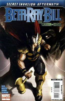 Secret Invasion Aftermath Beta Ray Bill Green of Eden #1 2009 FN Stock Image