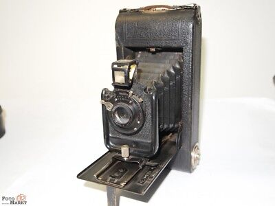 Ernemann Folding Camera Double Lens 1:11 f=10,5cm Antique for collector