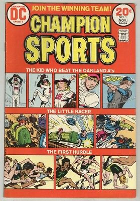 Champion Sports #1 November 1973 VG First Issue