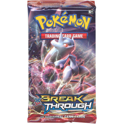 Pokemon Cards - XY BREAKthrough - Booster Pack (10 cards) - New Factory Sealed