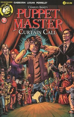 Puppet Master Curtain Call (Action Lab) #2A 2017 NM Stock Image