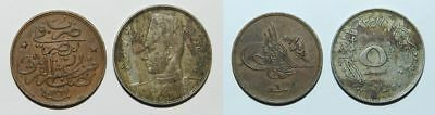 2 Old Egypt Coins