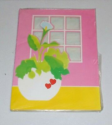 Set Carta buste da lettere SUMMER-TIME Estate Fiori Kartos Vintage notepaper