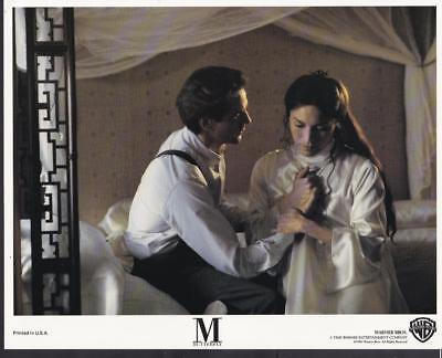 Jeremy Irons John Lone in M. Butterfly 1993 vintage movie photo 34121