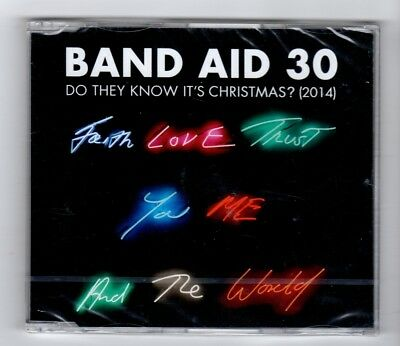(IB66) Band Aid 30, Do They Know It's Christmas (2014) - 2014 sealed CD