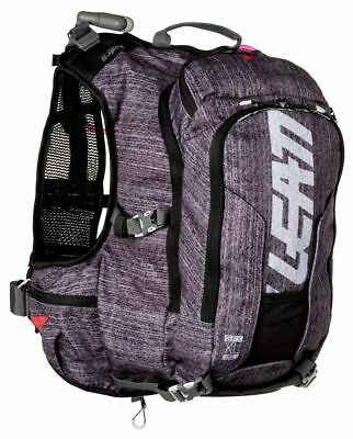 Leatt GPX XL 2.0 Brushed Hydration Backpack Black/Gray