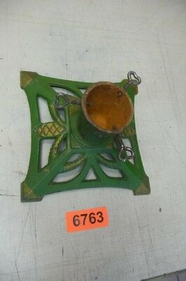 Nr . 6763.  Alter  Christbaumständer  Old Cast Iron Christmas Tree Stand