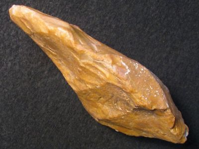 ACE HAND AX 125mms BIFACE MTA STONE AGE NEANDERTHAL PALEOLITHIC MOUSTERIAN FLINT