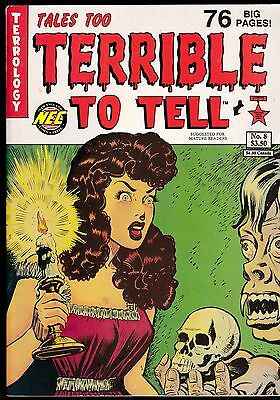 Tales Too Terrible To Tell 8 Pre-Code Horror Comic Reprints Harvey Nec