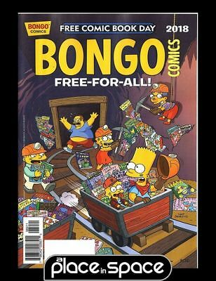 Free Comic Book Day 2018 - Bongo Comics Free-For-All!
