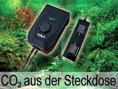 Carbon Plus Co2 Controller Regler Dünger Anlage Ph Flasche Aquarium System  Co1