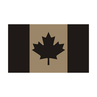 Canada Desert Tan Subdued Flag Decal Canadian Tactical Gloss Sticker HGV