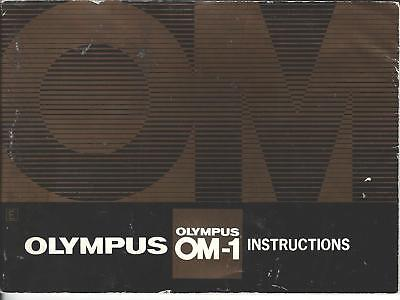 Olympus OM-1 Instruction Manual