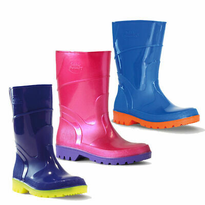 Childrens Gumboots Bata Bubblegummers Toddler/Junior Gumboot Hi-cut Size 4-2