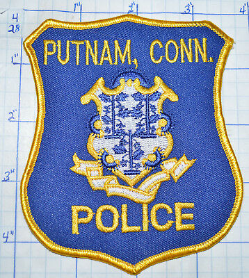 Connecticut, Putnam Police Dept Patch
