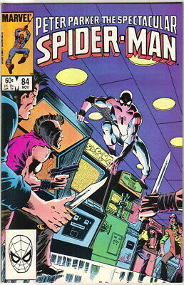 UNREAD The Spectacular Spider-Man Comic Book #81 Marvel 1983 VERY FINE