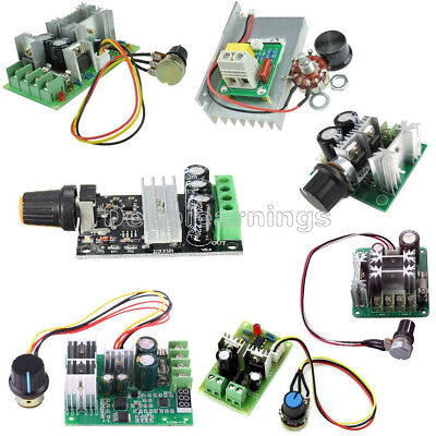 3/10/15/20A PWM 6-28V/10-60V/6-60V/12-40V/6-90V/12V Motor Speed Control Switch S