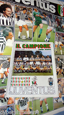 JUVENTUS poster story il Campione 1980 - 81 guerin