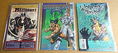 "LOT OF 3 x MARVEL ""WOLVERINE"" GRAPHIC NOVELS/COMICS   NEW/UNREAD HIGH GRADE NM"
