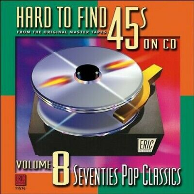 Various Artists - Hard-To-Find 45's On CD, Vol. 8: Pop Classics [New CD]