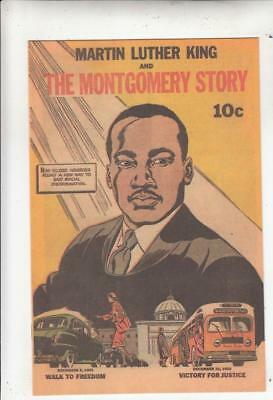 Martin Luther King And The Montgomery Story 1 strict NM+  is a rare 10c printing