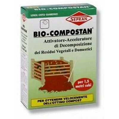 Bio-Compostan Sepran activator throttle of decomposition Kg 1