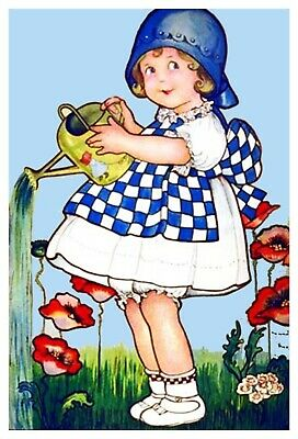 Child Land on Nod Vintage by Margaret Evans Price Counted Cross Stitch Pattern