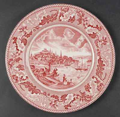 DECORATIVE PLATE By Johnson Bros England View Of Boston (Historic ...