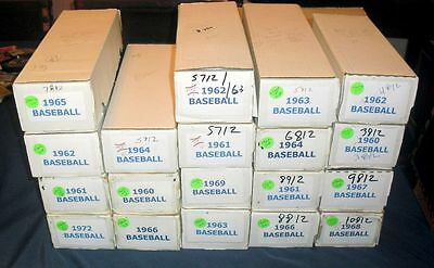 1960 Topps Baseball Card *u-Pick* Set Builder Lot (5 Picks) Vg/ex-Exmt Range!!