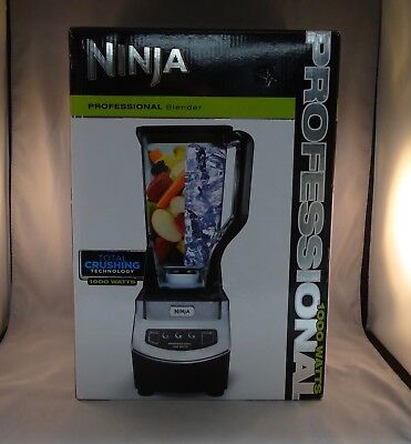 Ninja Professional Blender- 1000 Watts, Total Crushing Technology. New.