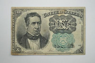 19th Century Ten Cents Fractional Currency, Fifth Issue FR1264 *P36
