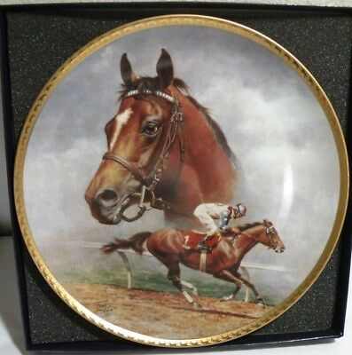 Race Horse CIGAR,  FRED STONE ARTIST, Collectors Plate #2979