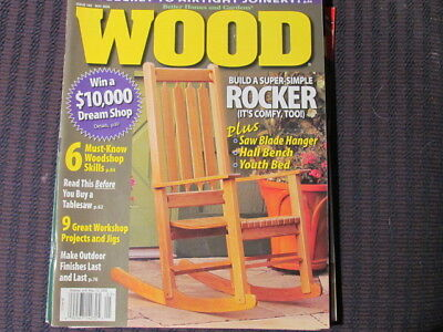 Wood Magazine # 183 By Better Homes U0026 Gardens MAY 2008